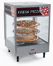 "NEMCO 18"" Pizza Display Case, Merchandiser 6451"