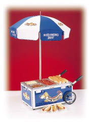 Nemco Hot Dog Merchandiser Mini Cart