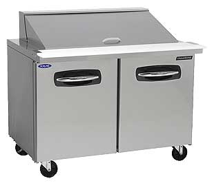 Nor-Lake Mega Top 2 Door Prep Table 48 Inch - NLSMP48-18A