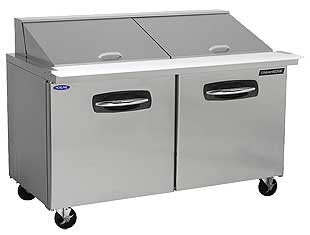 Nor-Lake Mega Top 2 Door Prep Table 60 Inch