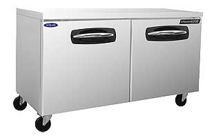 Nor-Lake 2 Door Under Counter Freezer 60 Inch