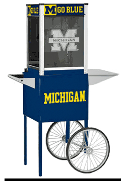 Paragon Michigan Wolverines Popcorn Machine Popper