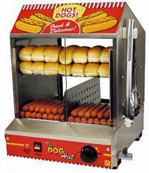 Paragon Hot Dog Steamer And Merchandiser