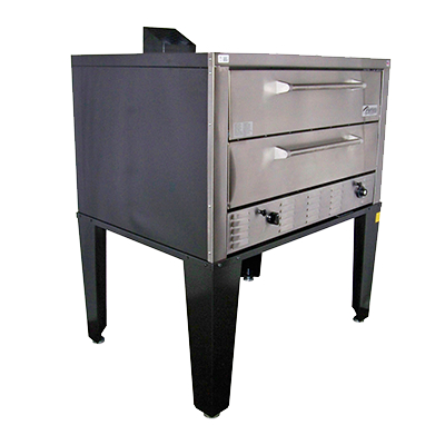 Peerless CW61P Pizza Oven With Twin Decks