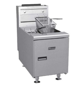 Pitco Solstice Fryer gas 35 lb. - SGC-S