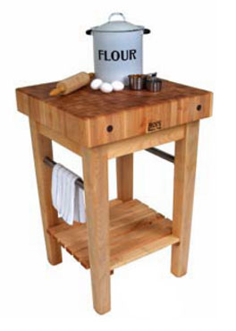 John Boos Butcher Block Unit PPB2424