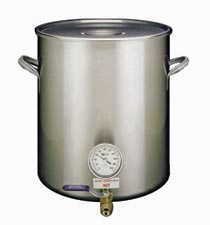 Stainless Steel Brew Pot Set - 10 Gallon