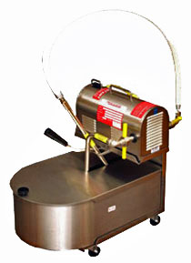 R.F. Hunter Fryer Filtrator - 130 Lbs. Capacity