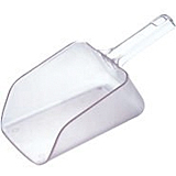 Utility Scoop - 64 Oz., Clear - PCS64