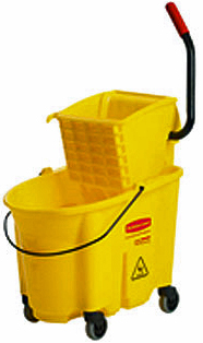 Rubbermaid Heavy Duty 35 Qt Mop Bucket and Wringer Combination