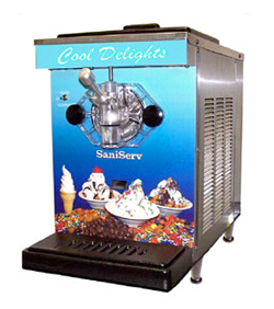 SaniServ DuraFreeze Ice Cream And Frozen Yogurt Machine