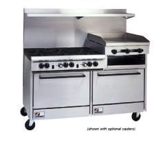 Southbend 60 Inch Commercial Oven Range S60DD with Raised Griddle