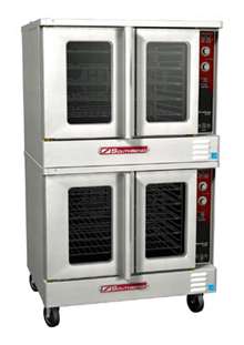Marathoner Gold Series Electric Convection Double Oven EB/20CCH, Extra Deep With Cook & Hold
