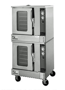 Marathoner Gold Series Electric Convection Double Oven EH/20CCH, Half-Size With Cook & Hold