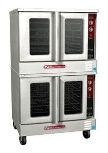 Marathoner Gold Series Electric Convection Double Oven ES/20SC, Standard Depth