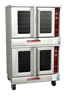 SilverStar Series Electric Convection Double Oven SLEB/20CCH, Extra Deep With Cook & Hold