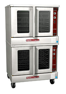 SilverStar Series Electric Convection Double Oven SLES/20CCH With Cook & Hold