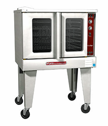 SilverStar Series Gas Convection Oven SLGB/12CCH, Extra Deep With Cook & Hold