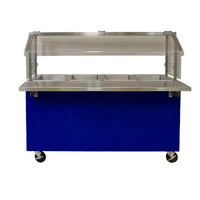 Hot Food Cafeteria Hot Cart - HC-46-BOS