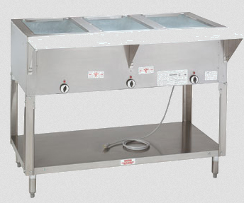 Supreme Metal Triumph Electric Hot Food Table With Sealed Well - Electric hot food table