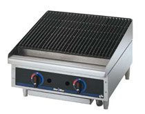 Star-Max Lava Rock  Countertop Charbroiler 24 Inch