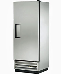 True T-12F Stainless Steel Reach-In Freezer, One Door