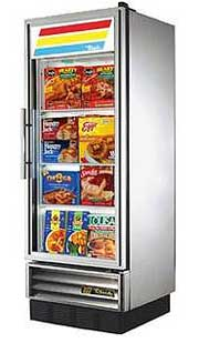 True T-12FG Glass Door Reach-In Freezer