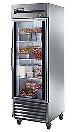 True T-23FG Reach-In Glass Door Freezer