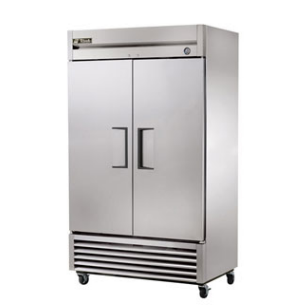 True Solid Two Door Freezer - T-43F-HC