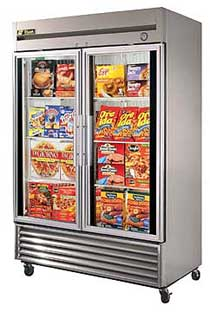 True T-49FG-LD Reach-In Glass Door Freezer