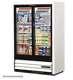 True Convenience Store Cooler GDM-33SSL-54-LD
