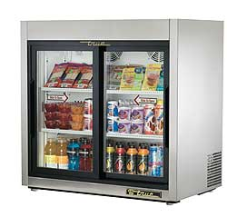 True Countertop Refrigerated Merchandiser TSD-9G