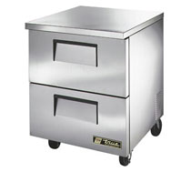 True Undercounter 2 Drawer Refrigerator