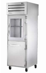 TRUE Pass-thru One-Section Refrigerator, 31 Cu. Ft. - STA1RPT-1HG/1HS-1G-HC