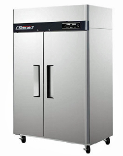 Turbo Air 39 Cu. Ft. Solid Dual Temperature Refrigerator and Freezer Combo