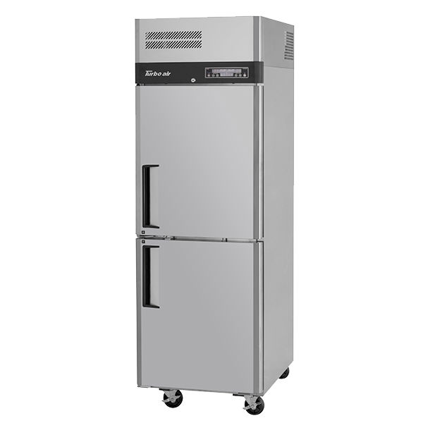 Turbo Air 19.5 Cu. Ft. Solid Dual Temperature Refrigerator and Freezer Combo