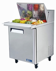 Turbo Air MST-28-12 Sandwich / Salad Refrigerator Mega Top