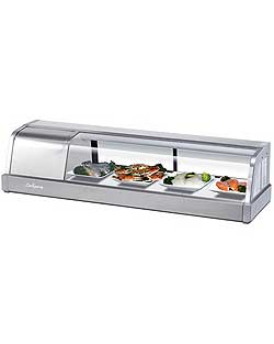 "Turbo Air SAKURA-50-R Sushi Display Case, 50"", Right Compressor"