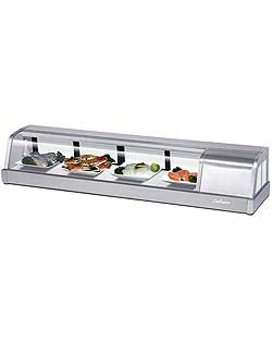 "Turbo Air SAKURA-60-R Sushi Display Case, 60"", Right Condenser"