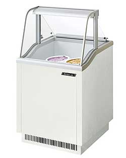 Turbo Air Ice Cream Dipping Cabinet, 27 Inches