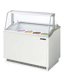 Turbo Air Ice Cream Dipping Cabinet, 47 Inches