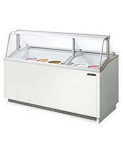 Turbo Air Ice Cream Dipping Cabinet, 70""