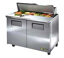 True Sandwich and Salad Prep Unit - TSSU-48-12-HC