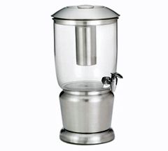 Tablecraft Stainless Steel 2.5 Gallon Beverage Dispenser - 75