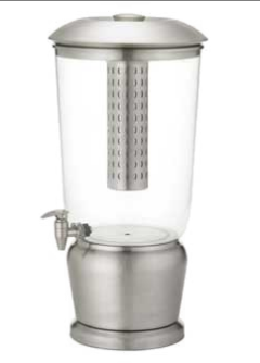 Tablecraft Stainless Steel 5 Gallon Beverage Dispenser - 85