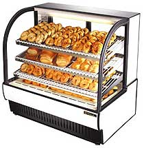 True TCGD-50 Non-Refrigerated Bakery Display Case