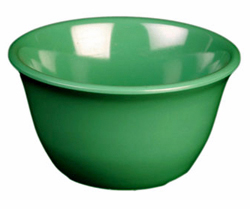 7 Ounce Melamine Bouillon Cup, One Dozen Green