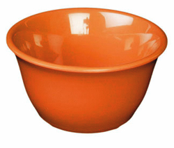7 Ounce Melamine Bouillon Cup, One Dozen Orange