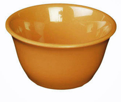 7 Ounce Melamine Bouillon Cup, One Dozen Yellow