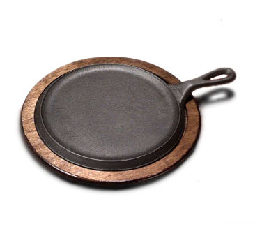 Tomlinson Round Serving Skillet Set With Birch Underliner